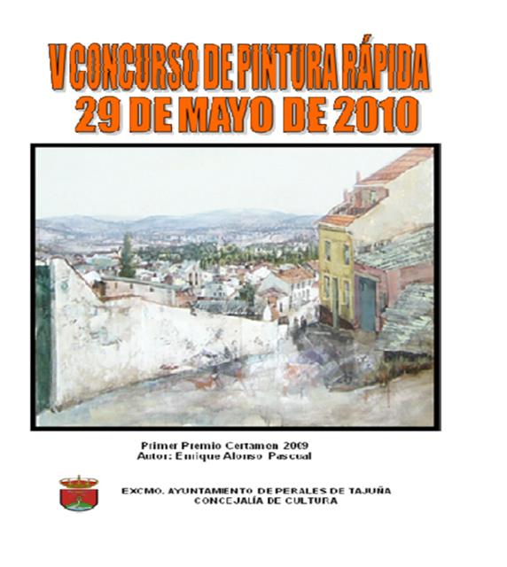 Perales de Tajuña: V Concurso de Pintura Rápida 2010 CONCURSODEPINTURA