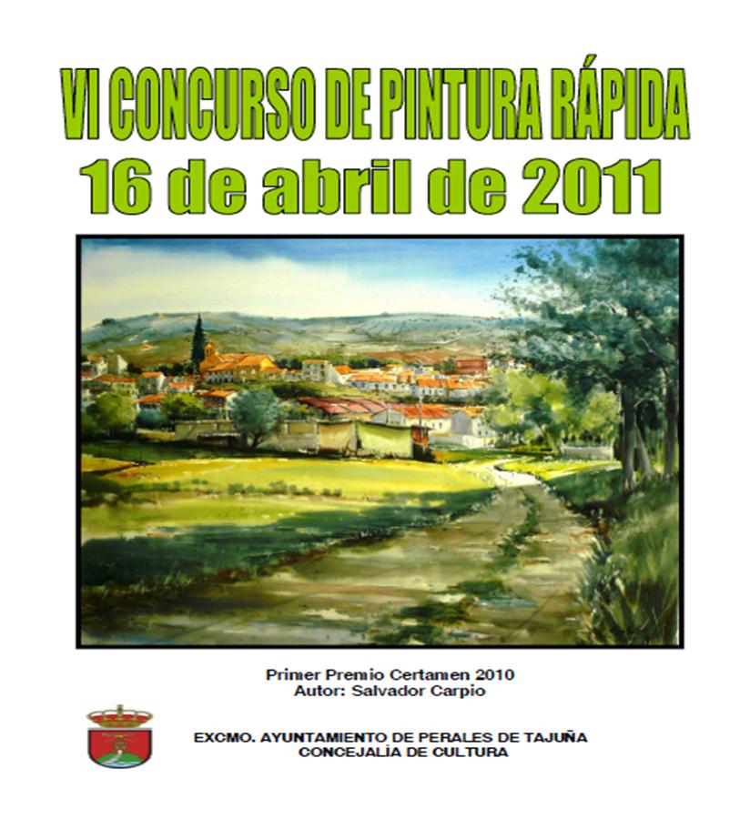 Perales de Tajuña: VI Concurso de Pintura Rápida CONCURSOPINTURA