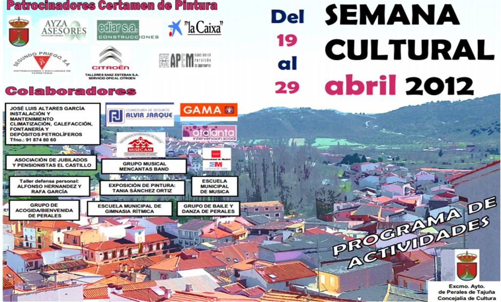 Perales de Tajuña: Programa Semana Cultural 2012 Imagen2-2