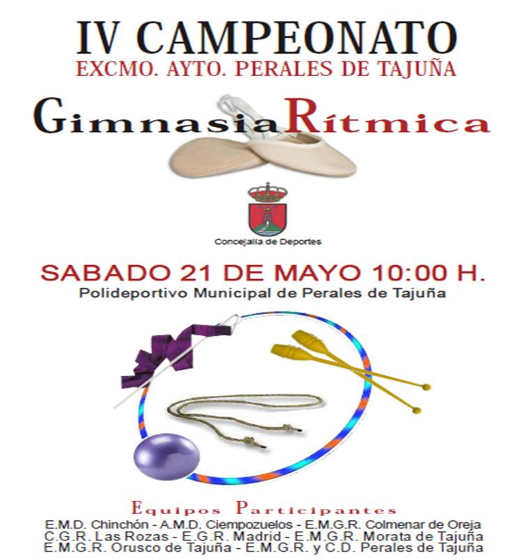 Perales de Tajuña: IV Campeonato de Gimnasia Rítmica PERALES-2