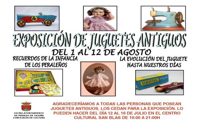 Perales de Tajuña: Exposición de Juguetes Antiguos Exposicionjuguetes