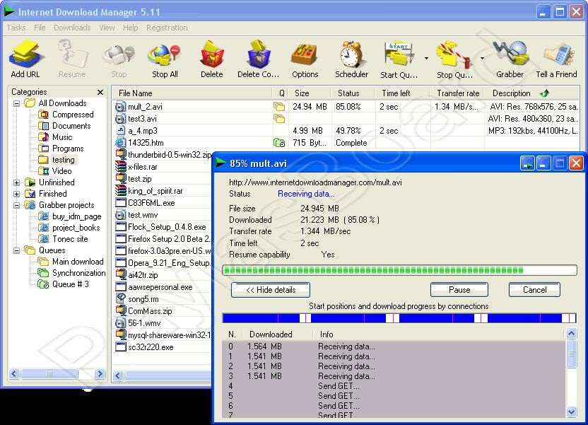 Internet Download Manager 5.17 Build 3 + TR YAMA (FULL) Internet_Download_Manager-12763