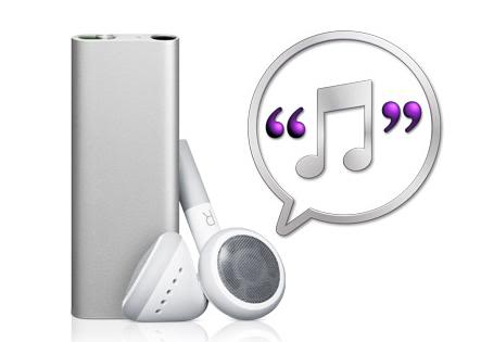 iPod shuffle with voiceOver Ipod