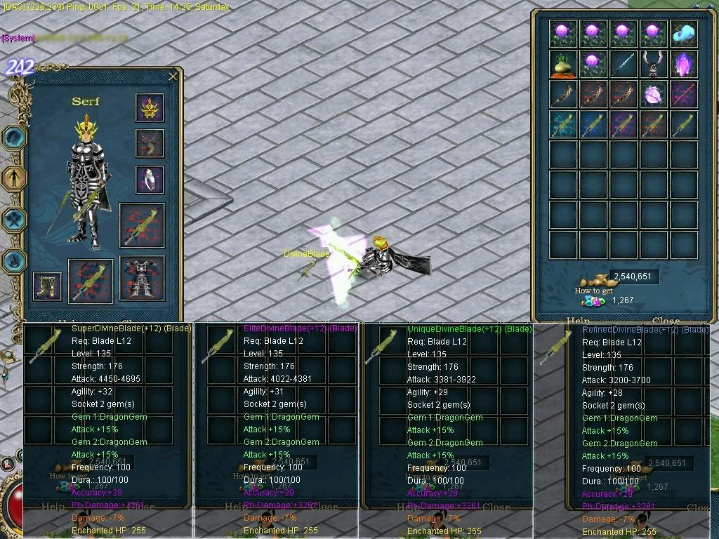 Lots of new items! DIVINESWORD