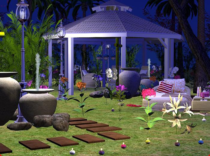 Jardines, fuentes, exterior 1