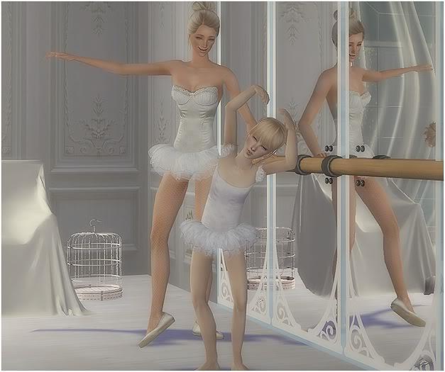 El albúm de fotos. Enséñanos las fotos de tus sims - Página 11 Ballet1-1
