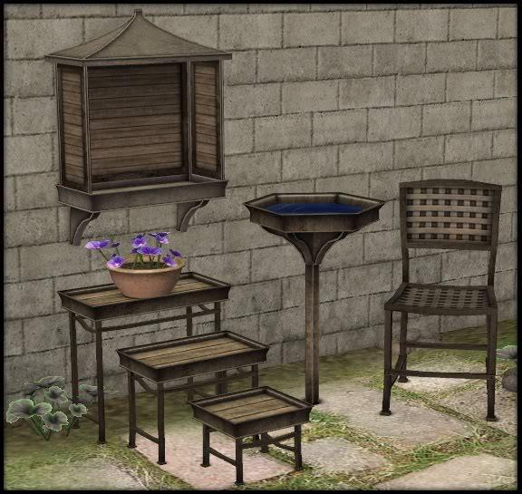 Jardines, fuentes, exterior Detail