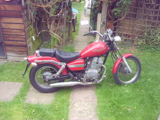 Honda rebel 250 S6001457
