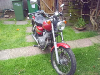 Honda rebel 250 S6001460