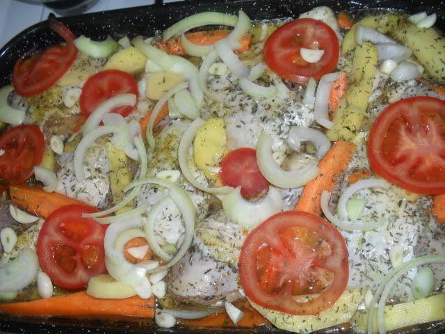pui la cuptor cu legume SDC12133