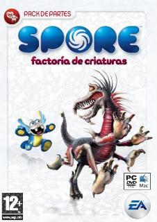 Spore, Factoria de Criaturas - Pack de Partes Sporefactoradecriaturas-1