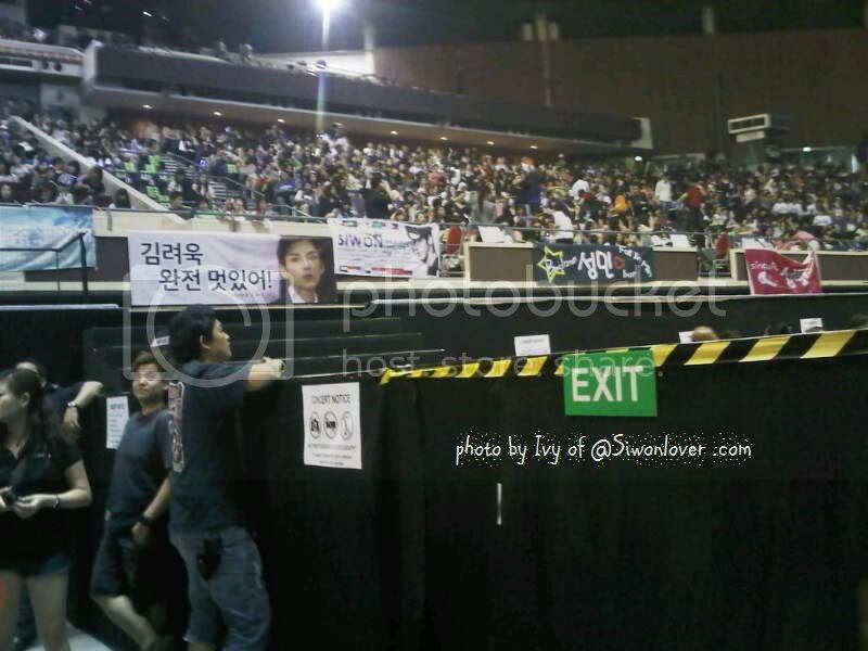 [SUCCESS] Siwonlover Banner at SS4 Singapore Indoor Stadium Ss4sgday2