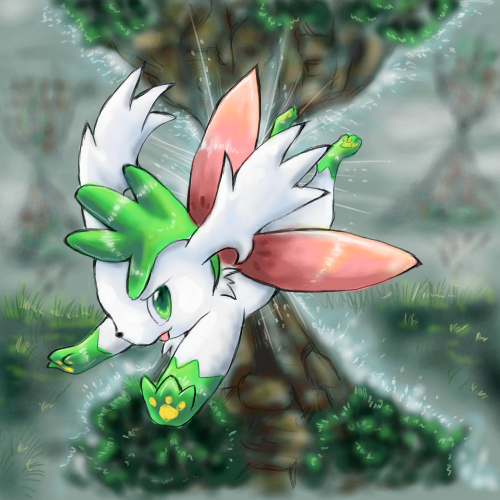 Nhận tìm , post hình Wallpaper pokemon , pokemon Shaymin