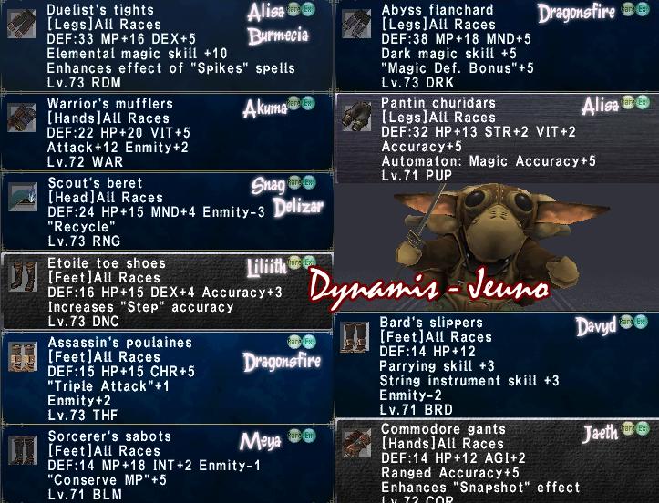 Dynamis - Jeuno Farming + Win ~ April19th Jeunodynamisapril22