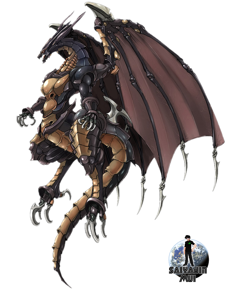 Mui's Renders. 56k Warning! Bahamut