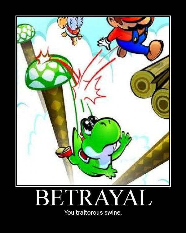 Hello ^^ Betrayal