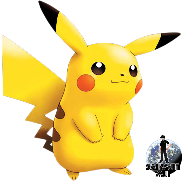 Mui's Renders. 56k Warning! Pikachu