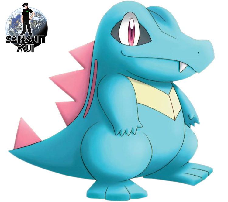 Mui's Renders. 56k Warning! Totodile