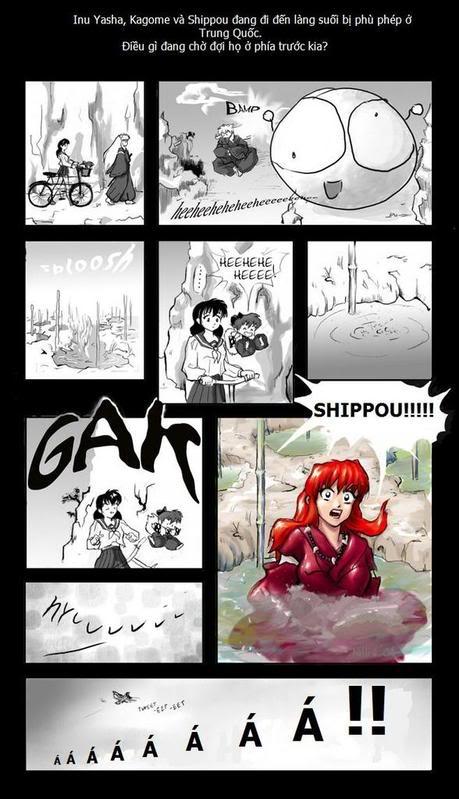 Truyện tranh hài Inuyahsa Inu