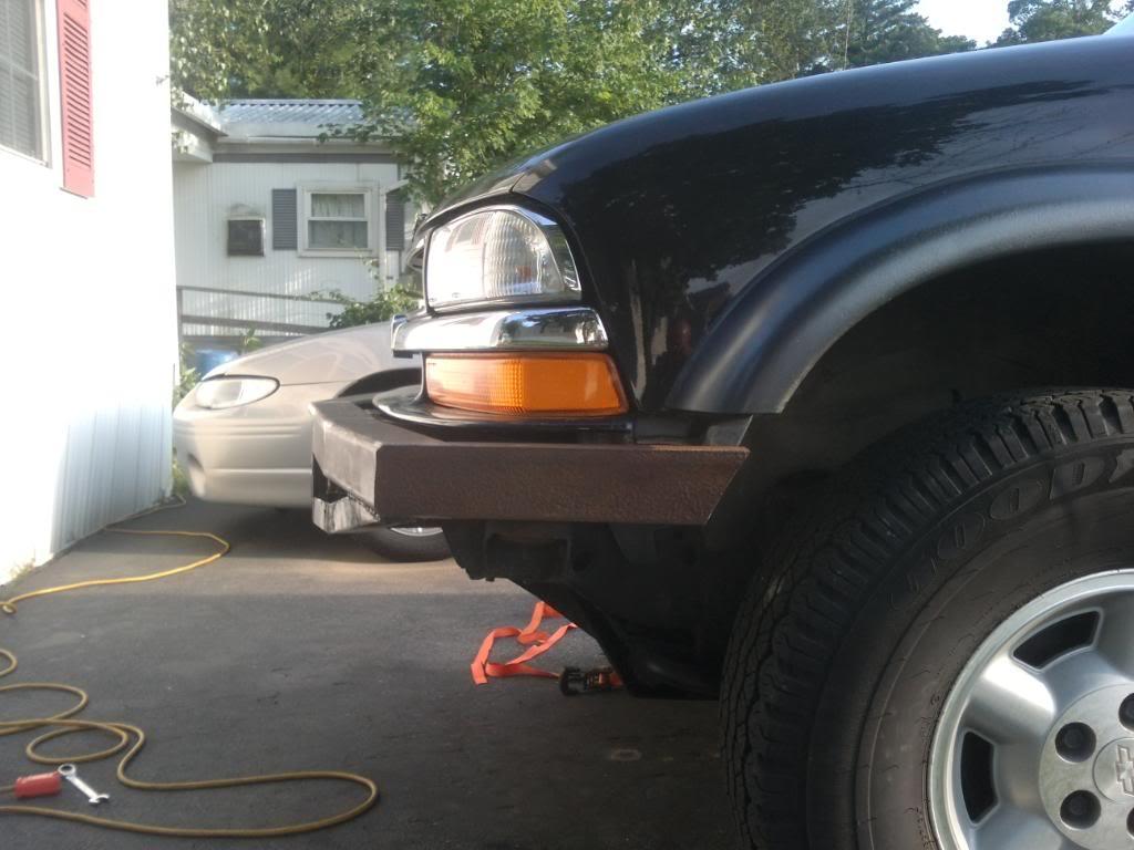 My custom bumper build SSPX0107
