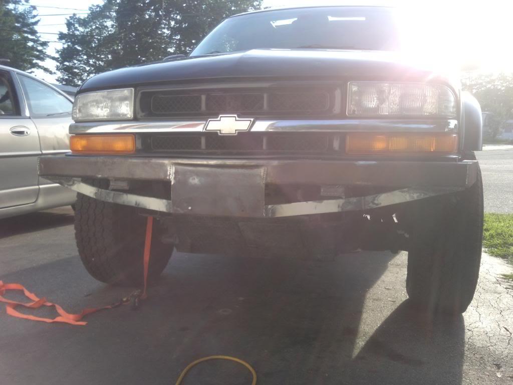 My custom bumper build SSPX0110