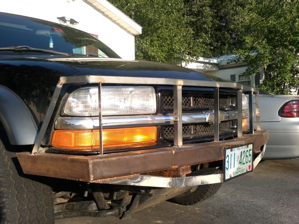My custom bumper build SSPX0126