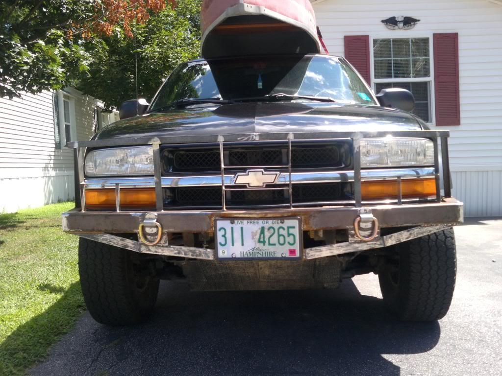 My custom bumper build SSPX0133