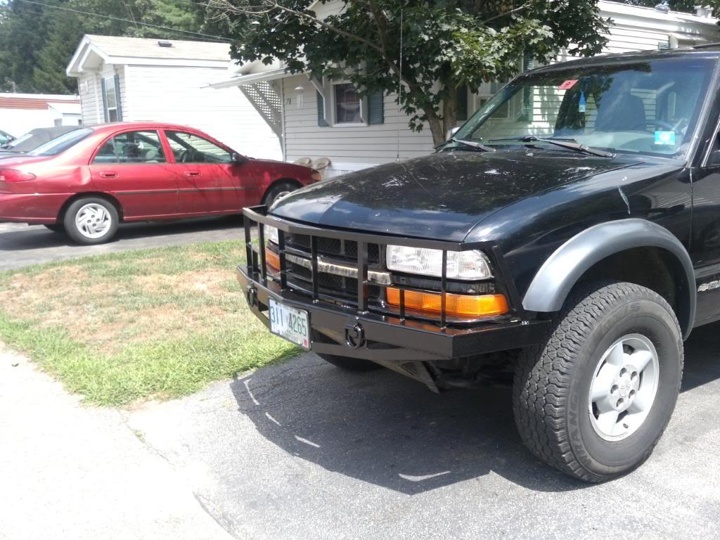 My custom bumper build SSPX0138