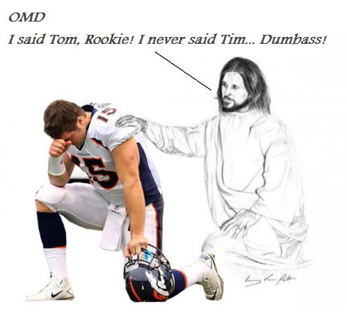 The road to the Superbowl runs straight through Foxborough Tebow