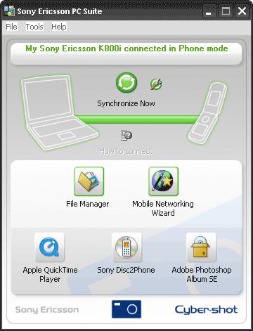 Sony Ericsson PC Suite 3.209.00 2007-10-26_-103515-PM