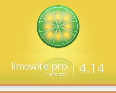 Limewire Pro version 4.14.0 Lime