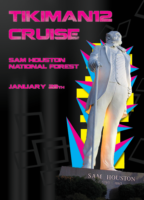 TEAM NRG cruise through Sam Houston national forest Cruise-poster