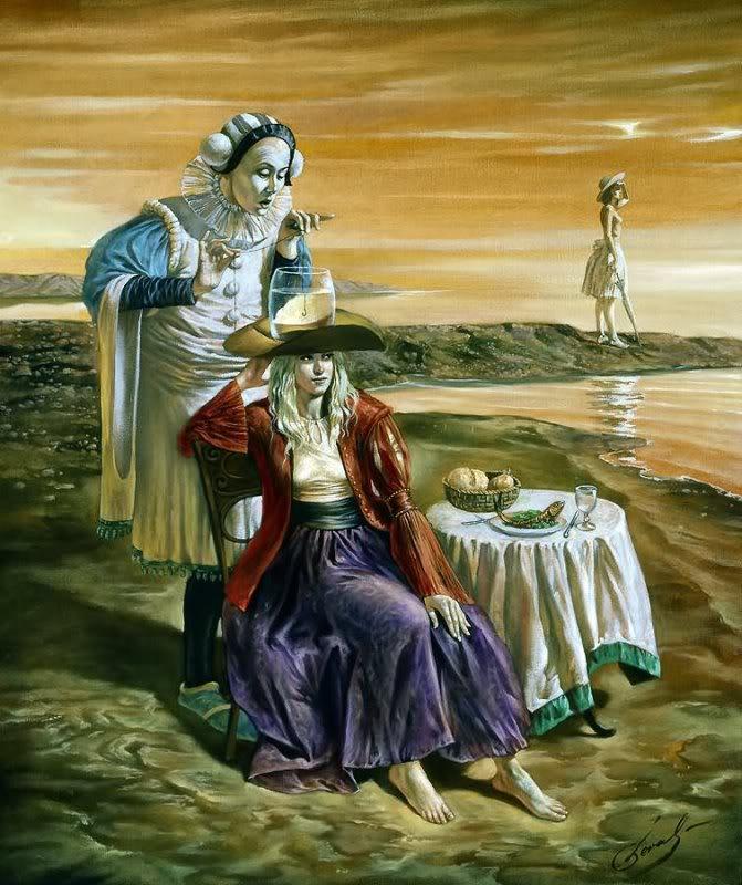 Michael Cheval (¿El nuevo Dalí?) 40