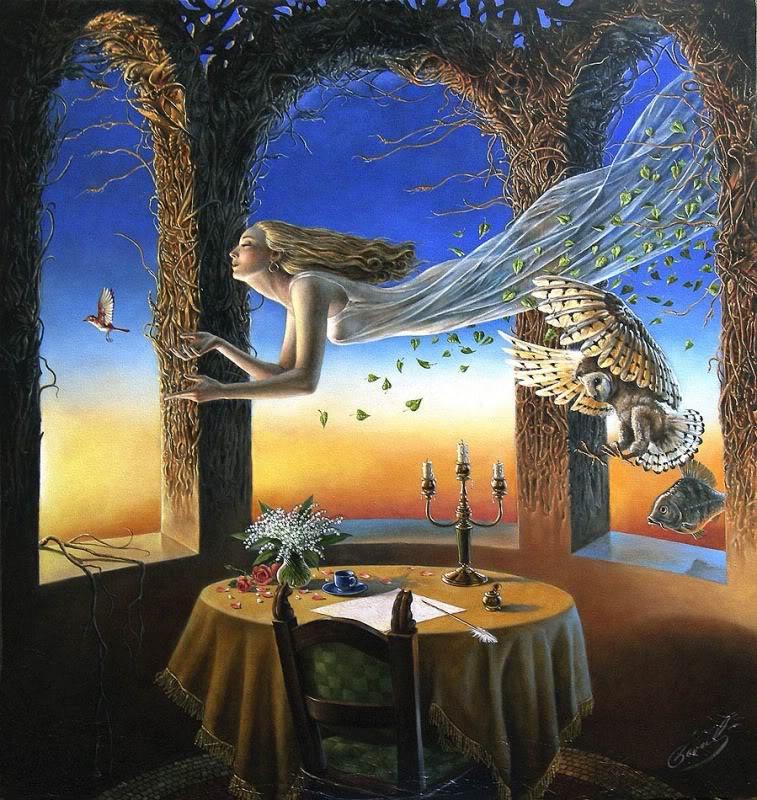 Michael Cheval (¿El nuevo Dalí?) 45