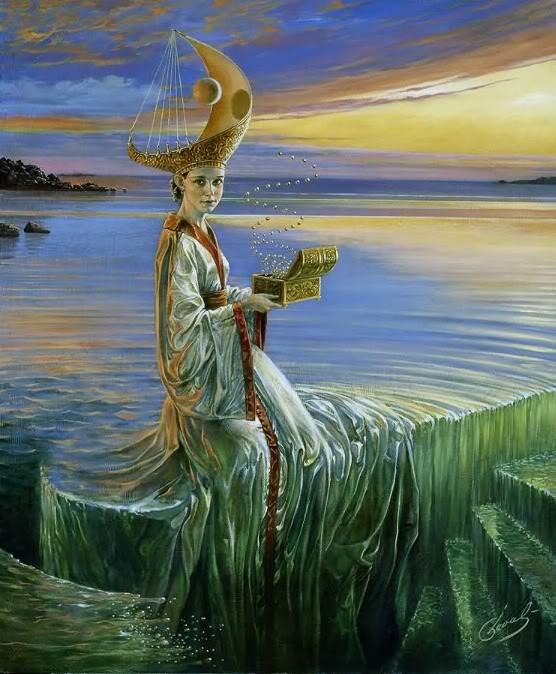 Michael Cheval (¿El nuevo Dalí?) 70sbanaconmispalabras