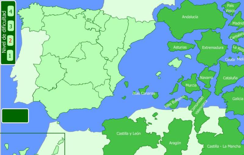 Juegos educativos online (Para niños y no tan niños) Mapa