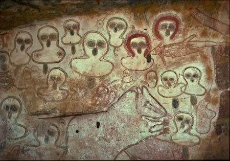 Wandjinas: Los dioses de los aborígenes australianos. Art4-1