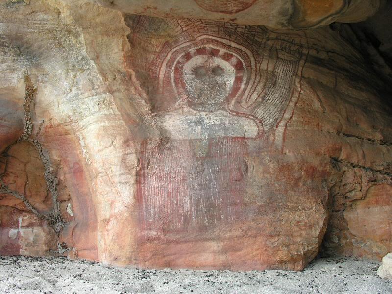 Wandjinas: Los dioses de los aborígenes australianos. Cp_bigge36