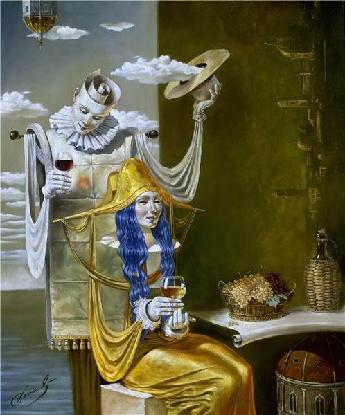 Michael Cheval (¿El nuevo Dalí?) GoldenageMichaelCheval