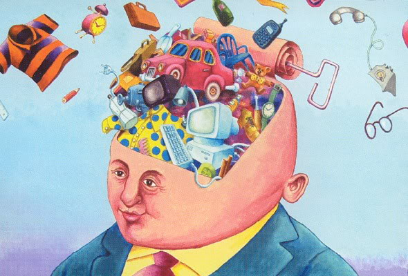 El hombre de hoy y el gran juego de la vida (Reflexión) Materialismo