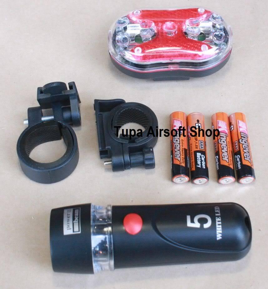 New Items for October FlashlightsetforBikeYT-M09