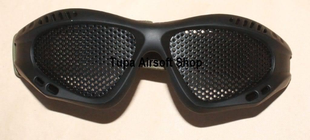 New Items for October Mask012MetalWireGoggleBlack
