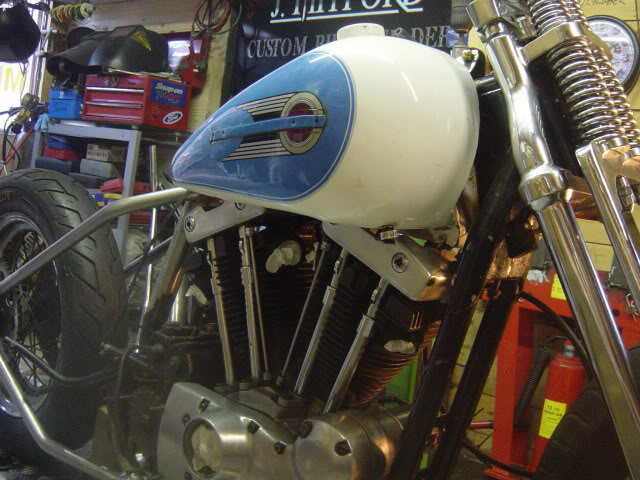 honda xbr500 cafe racer - we only have 2 months to completion DSC05366