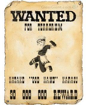 Randoms Wantedposterkarasu