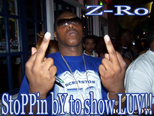Z-Ro Photo Gallery Z-ro