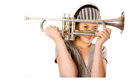 The Grand Foyer Trumpet_girl