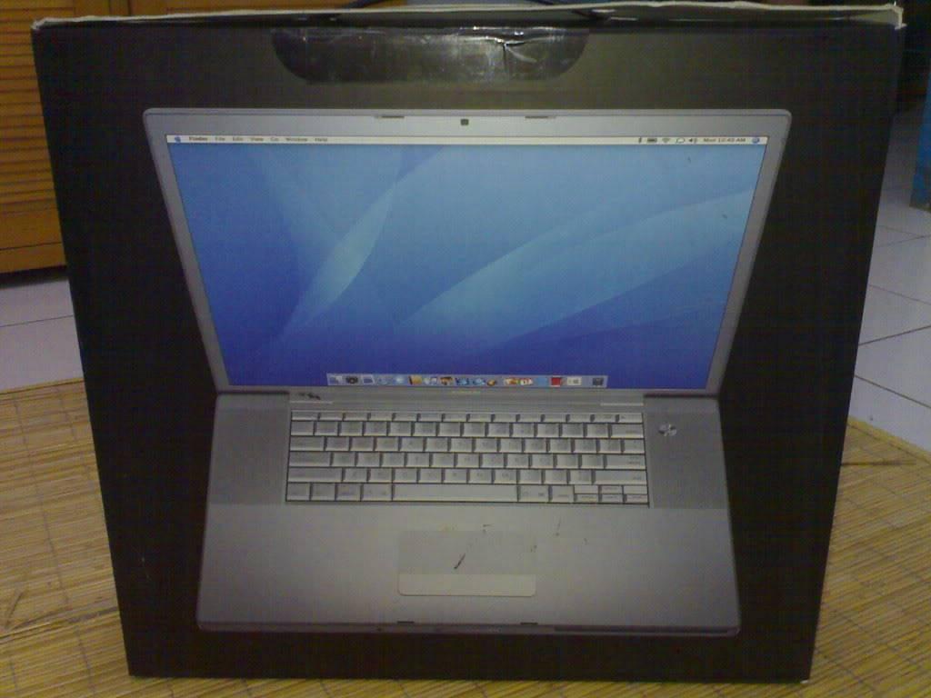 "laptop macbook pro 17"" Mcb01"