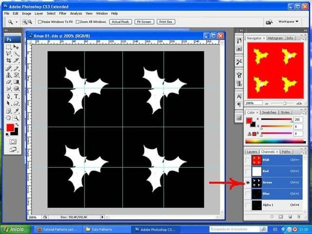 TUTORIAL: Patterns, crea tu propio diseño con Photoshop y Workshop (Fácil) 006