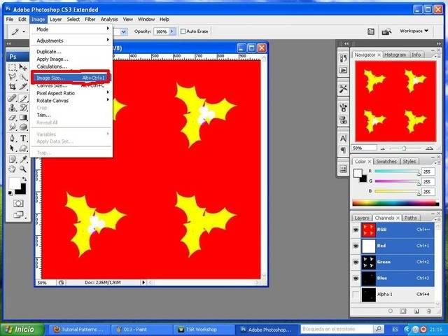 TUTORIAL: Patterns, crea tu propio diseño con Photoshop y Workshop (Fácil) 008a