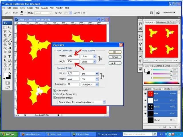 TUTORIAL: Patterns, crea tu propio diseño con Photoshop y Workshop (Fácil) 008b